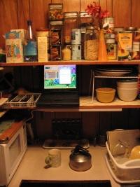 Cookalotta in the Hidey Hole Kitchen